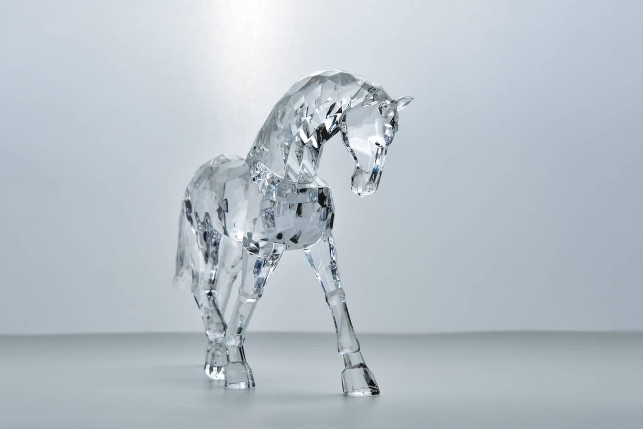 statuette cheval